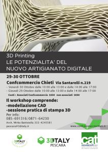3D PRINTING: Le potenzialità del nuovo artigianato digitale